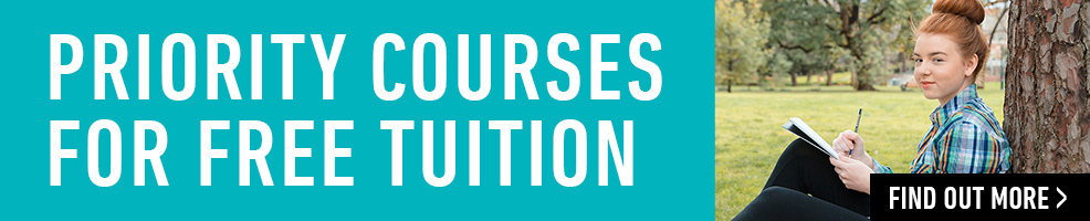 Free TAFE for Priority Courses