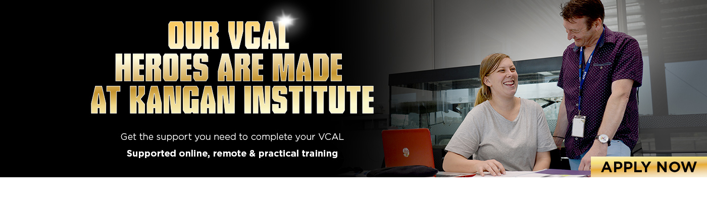 Get the support you need to complete your VCAL